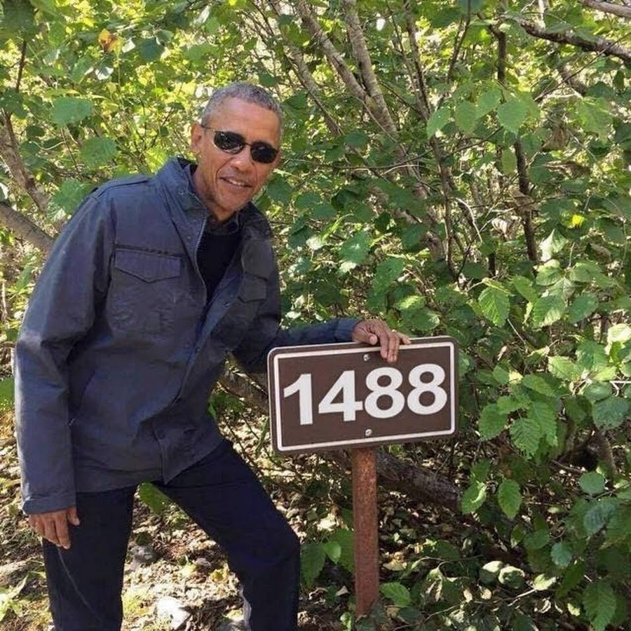 Barack Obama Exit Glacier plant tree