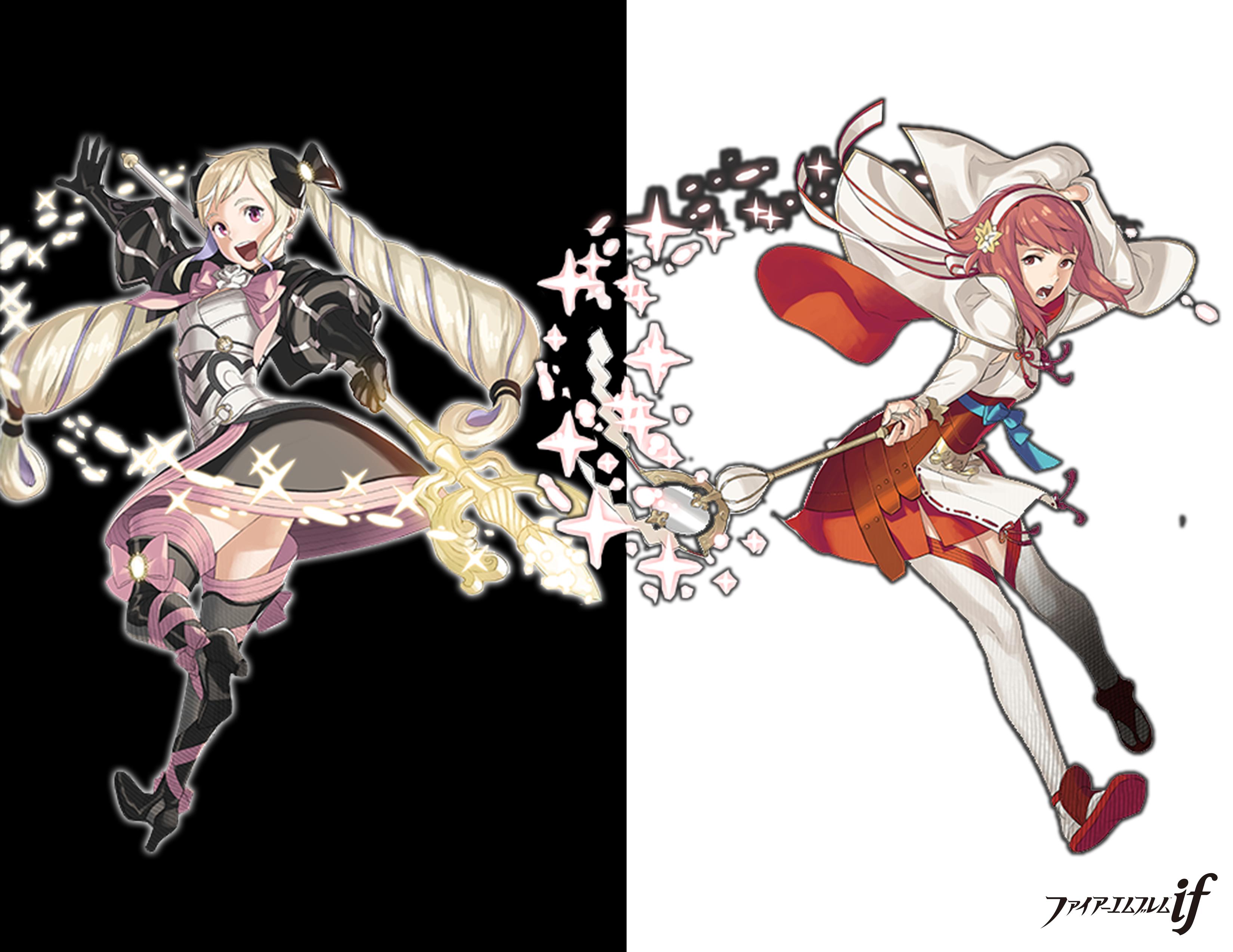 Elise And Sakura Wallpaper Fire Emblem Know Your Meme