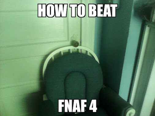 how to beat fnaf 4 | Five Nights at Freddy's | Know Your Meme