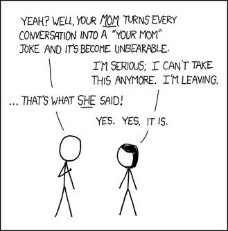 xkcd webcomic | Your Mom Jokes | Know Your Meme