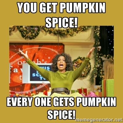 Oprahs Pumpkin Spice Giveaway Pumpkin Spice Latte Know Your Meme