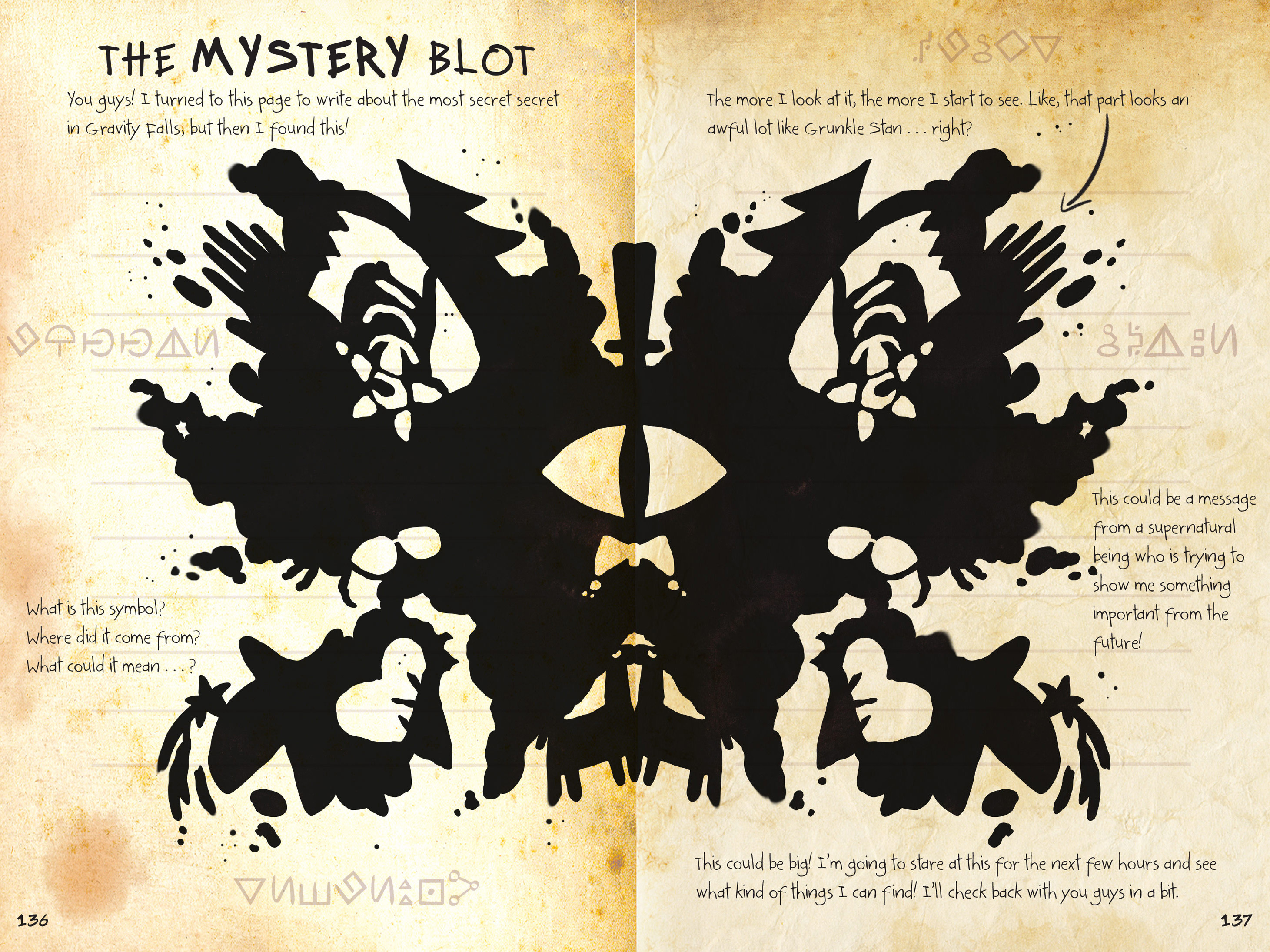 The Mystery Blot Bill Ciphers Ultimate Form Gravity Falls