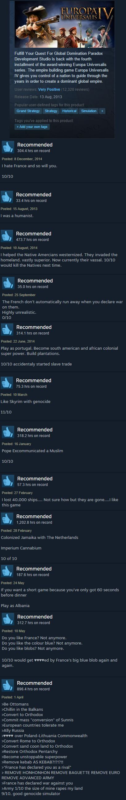 europa universalis 4 steam user reviews know your meme
