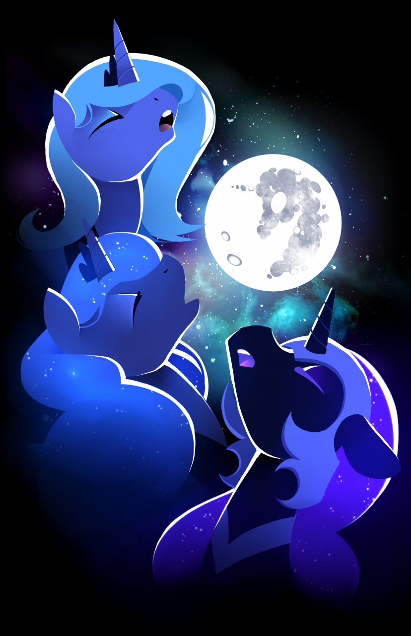 Three Luna Moon Three Wolf Moon Know Your Meme