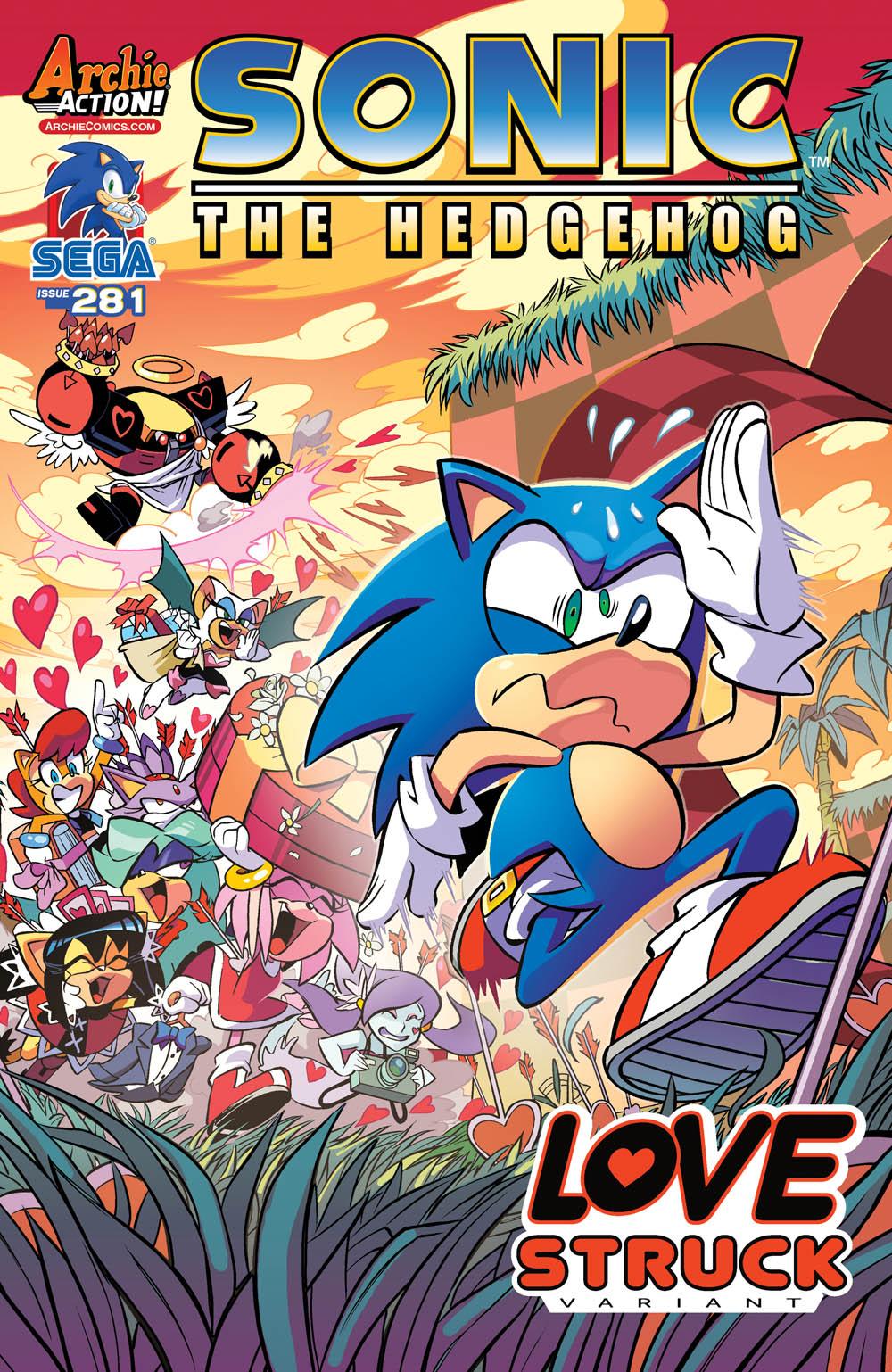 281 Variant Cover Archie Sonic Comics Know Your Meme