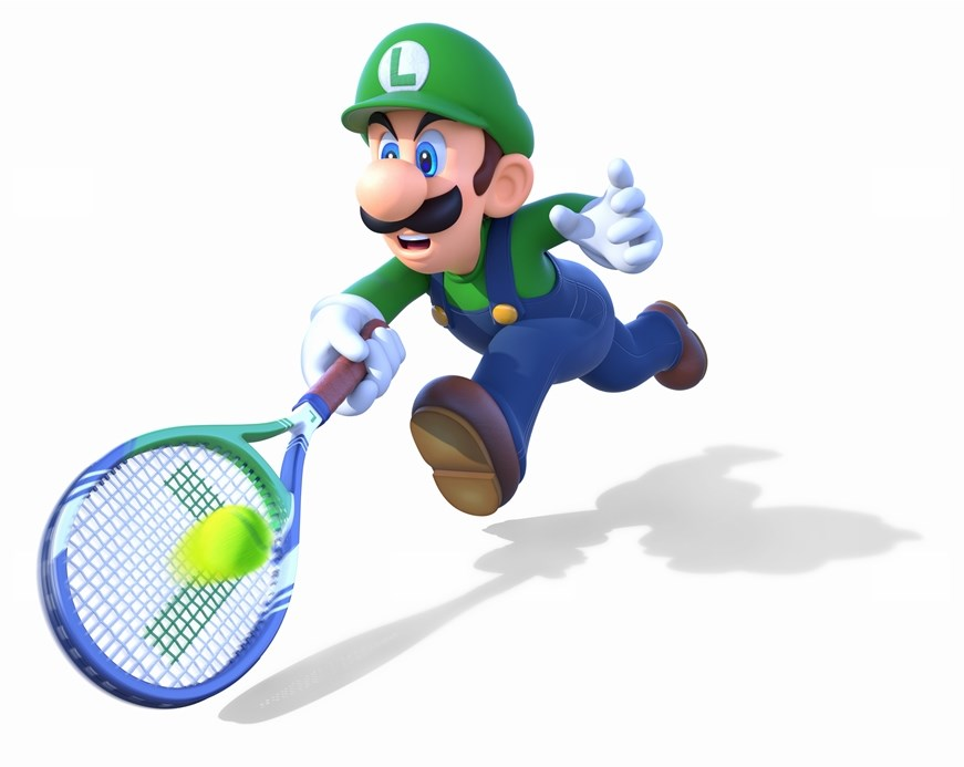 Luigi Goes After A Ball Mario Tennis Know Your Meme