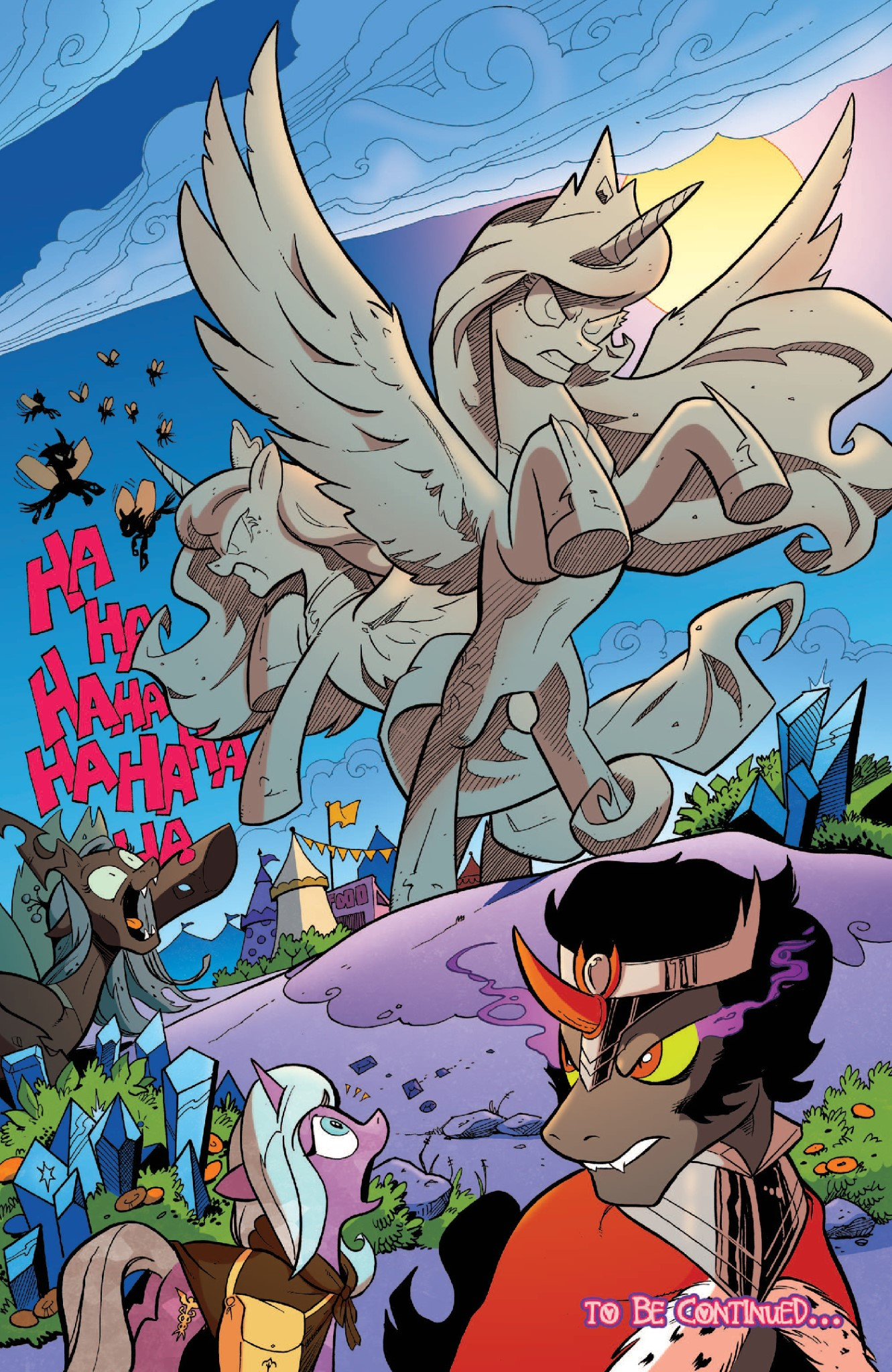 Discord Celestia Comic wonder what discord has to say about this? | my little pony
