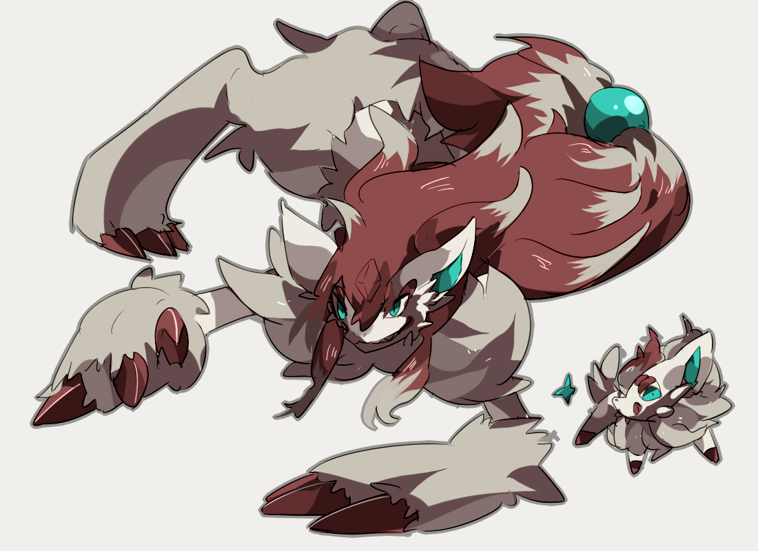 Zorua And Zoroark Pokémon Know Your Meme