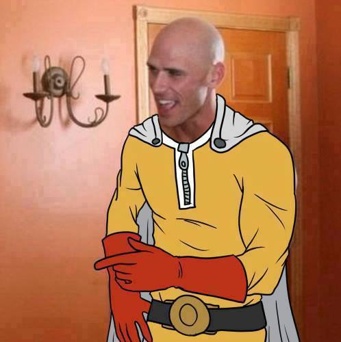 Johnny Sins With Hair