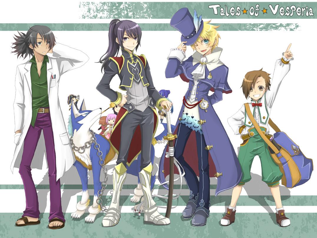 alternate costume boys tales series know your meme rh knowyourmeme com Tales of Vesperia Raven Costumes Tales of Vesperia School Costumes