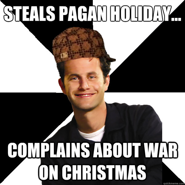 Christmas Holidays Meme.Steals Pagan Holiday The War On Christmas Know Your Meme