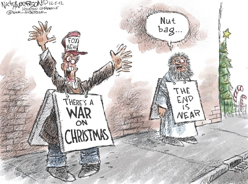 125 12 uceiltdnjewell nut ba new the end is theres a war on christmas - The War On Christmas
