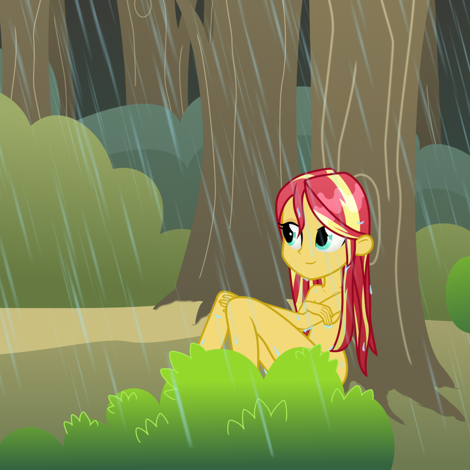 Twilight Sparkle Rainbow Dash Sunset Shimmer Green Yellow Cartoon Vertebrate Anime Art Fictional Character Illustration Computer