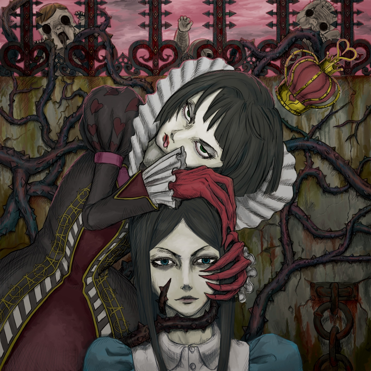 Alice Madness Returns Queen Of Hearts
