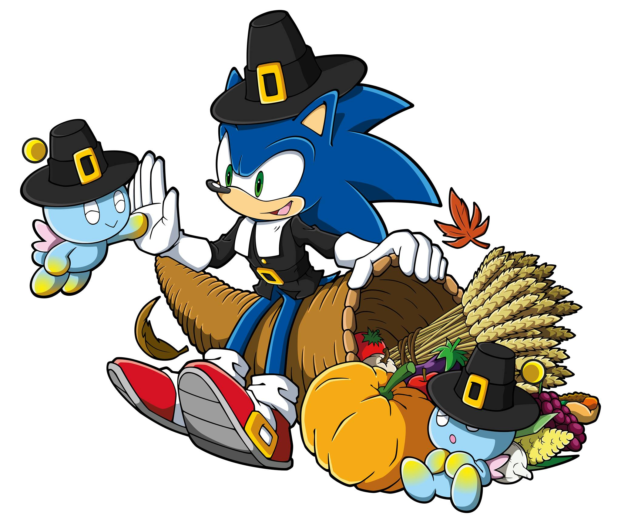 New official Thanksgiving art   Sonic the Hedgehog   Know Your Meme