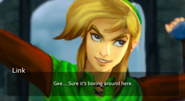 the faces of evil wand of gamelon link hyrule warriors dlc has been