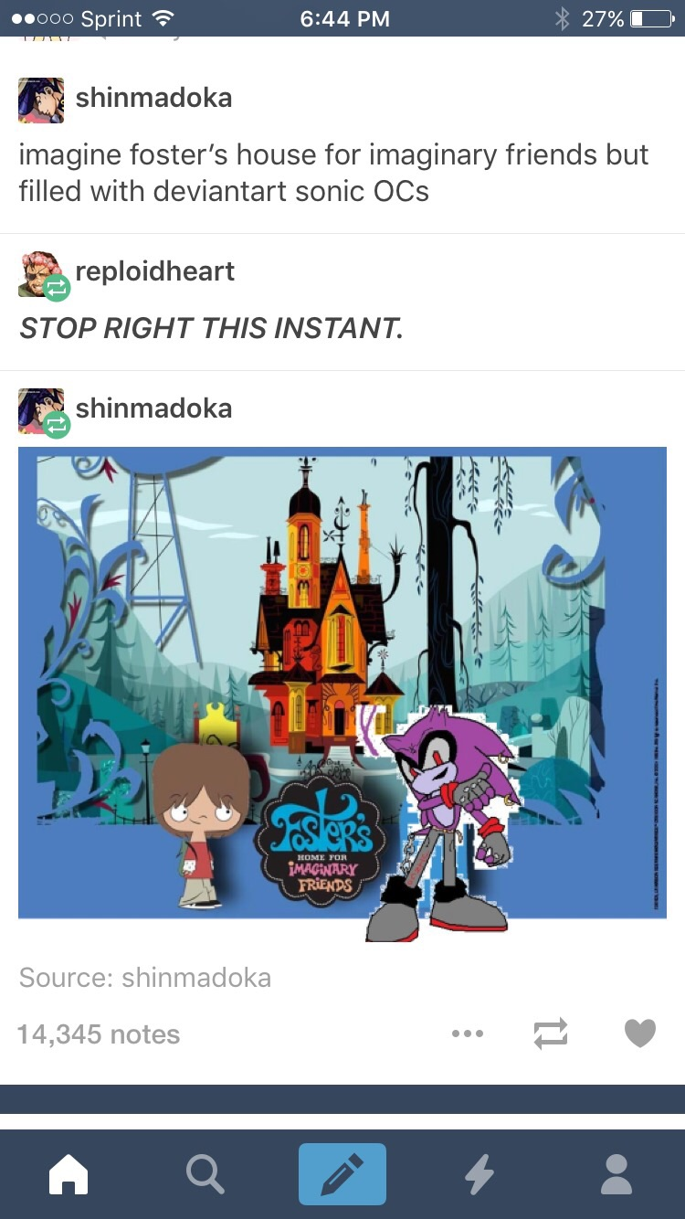 Foster home for imaginary friends comics on tumblr