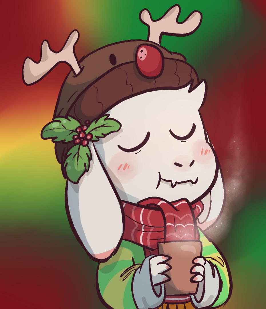Undertale Christmas.Christmas Asriel Undertale Know Your Meme