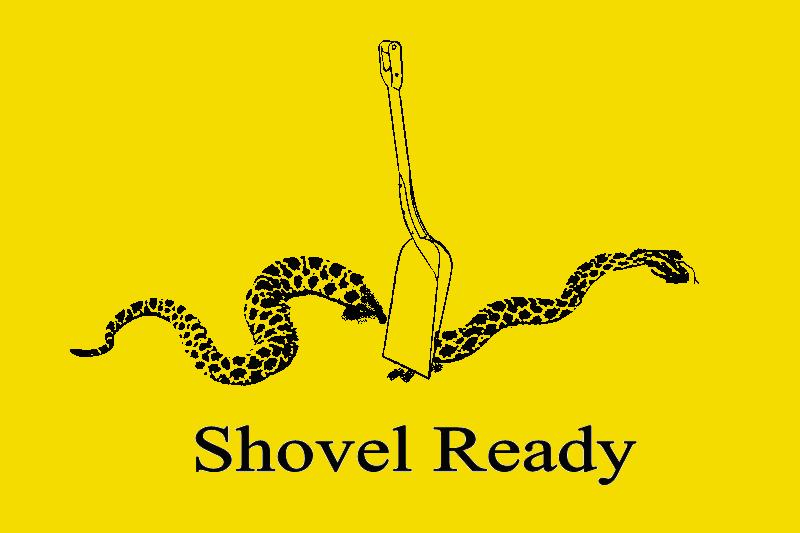 shovel ready gadsden flag don t tread on me know your meme