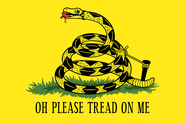 Image result for tread on me