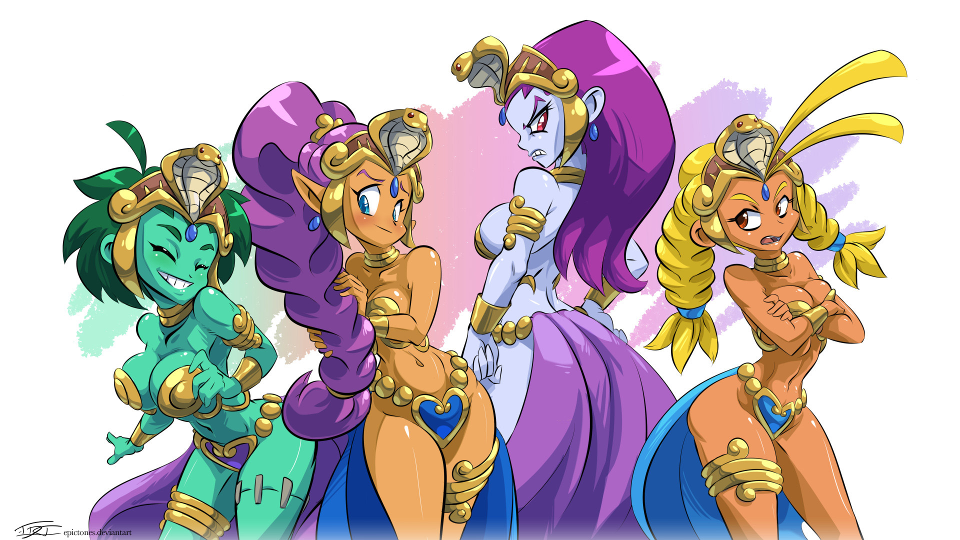 We Need More Slave Girl Outfits Shantae Know Your Meme
