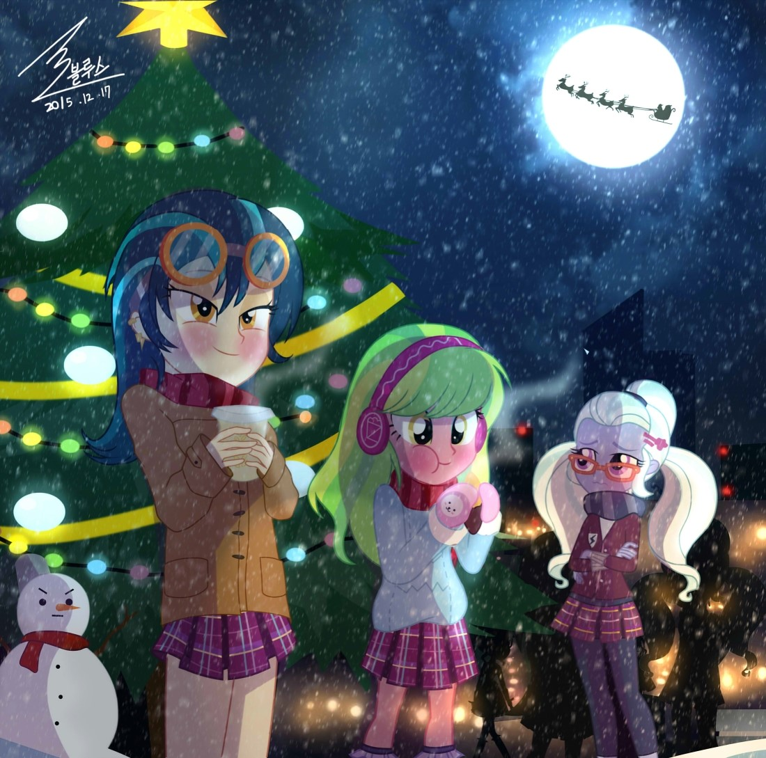 Mlp Christmas.Christmas By 0bluse My Little Pony Equestria Girls Know