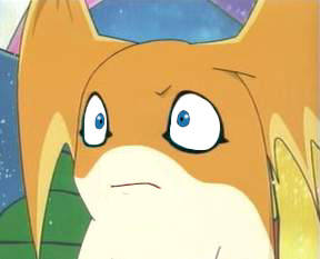Patamon Has Seen Some Shit Digimon Know Your Meme