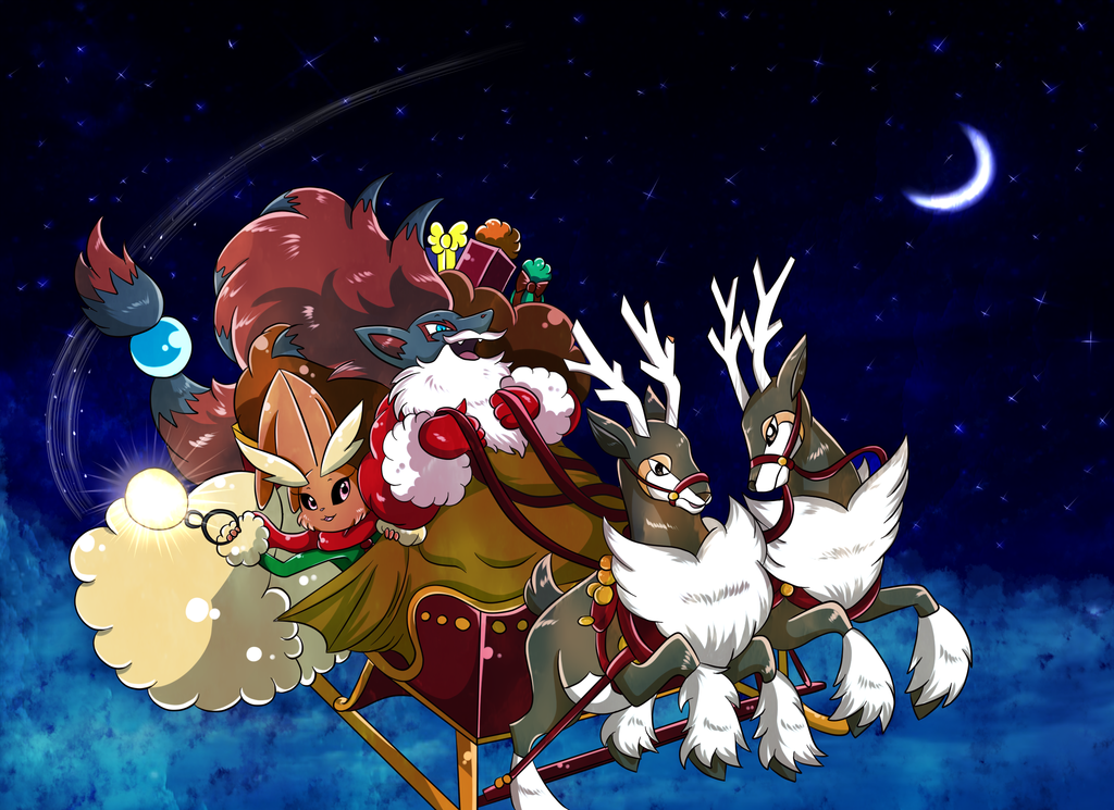 Zoroark Santa Pokémon Know Your Meme