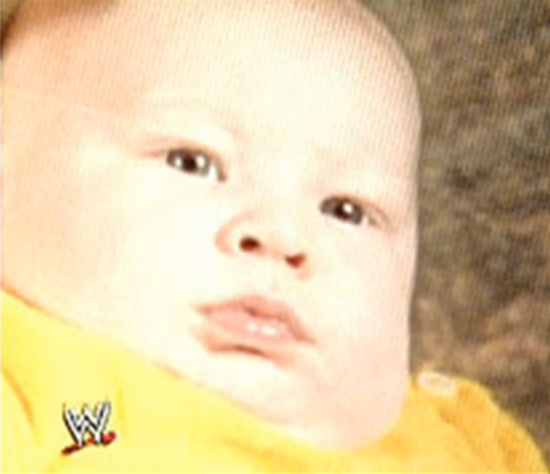 Image result for brock lesnar as a child