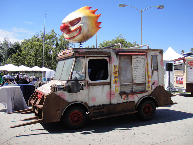 Image result for twisted metal ice cream truck