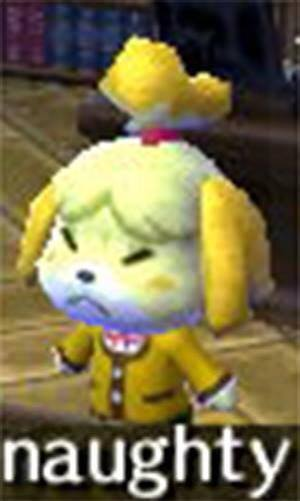 naughty   Isabelle   Know Your Meme