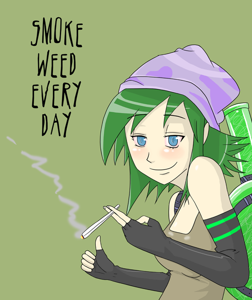 Smoke Weed Everyday 420chan Know Your Meme