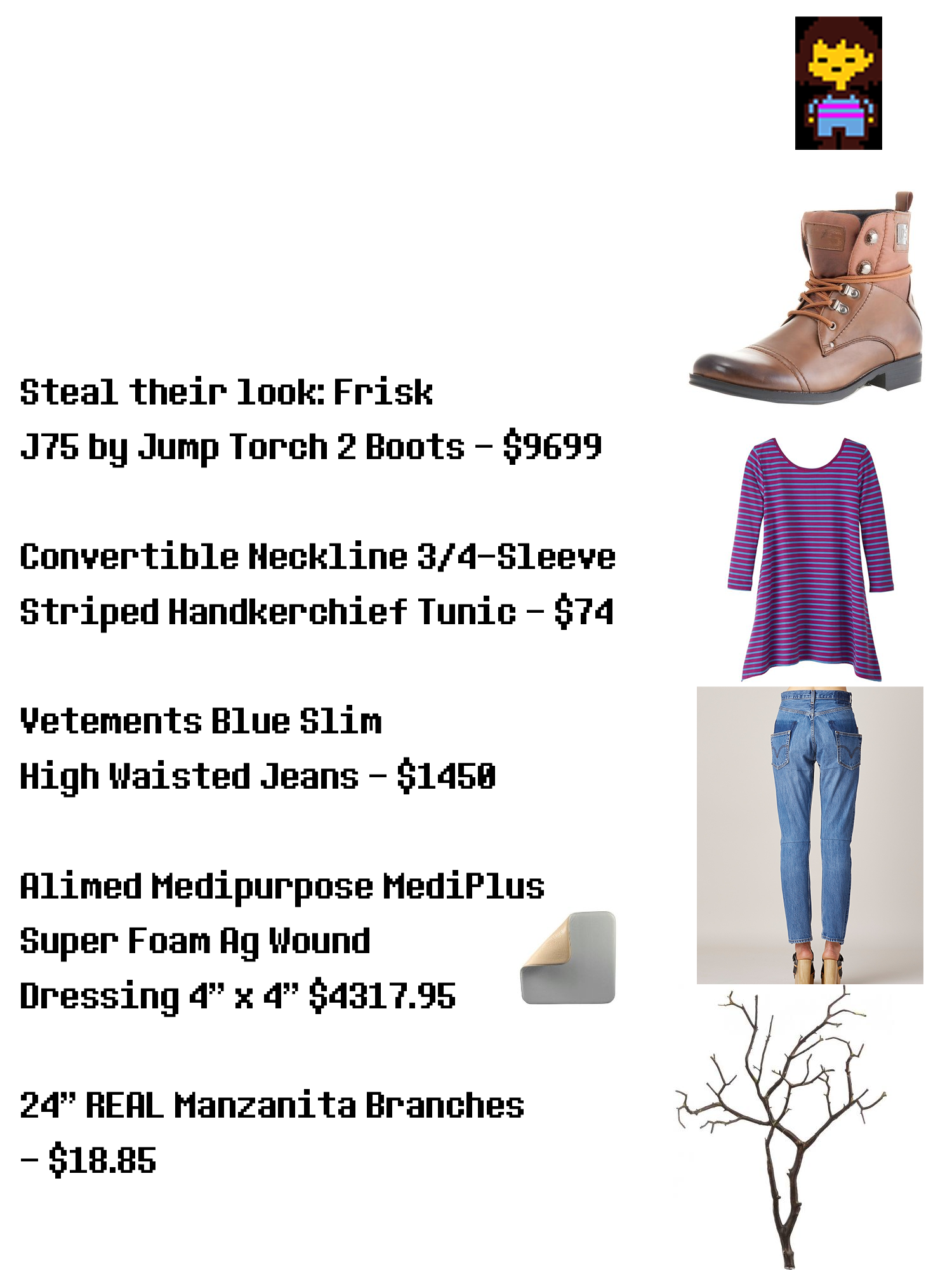 Steal Their Look Frisk Undertale Know Your Meme