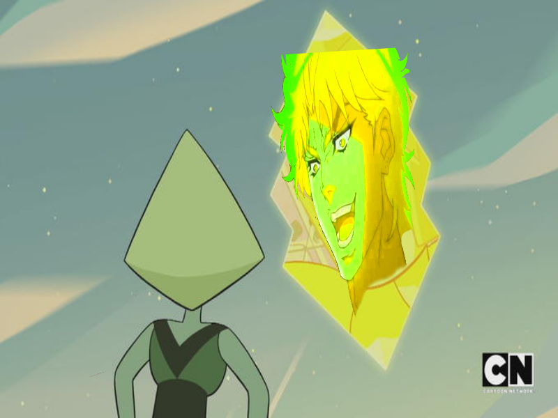 you thought it would be yellow diamond but it was me dio all along