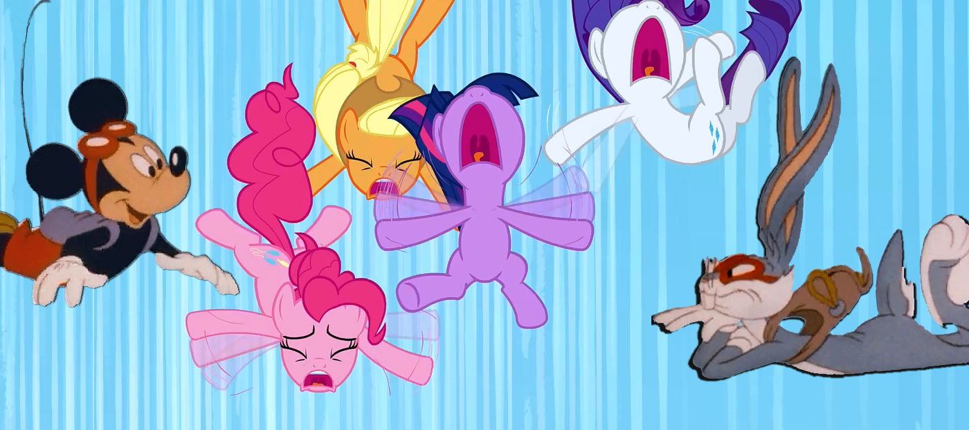Freefalling crossover | My Little Pony: Friendship is Magic | Know ...