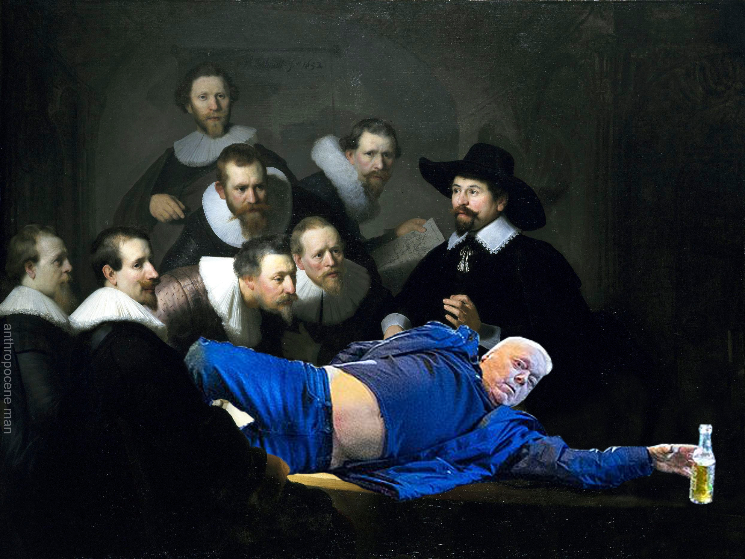 The Anatomy Lesson Of Dr Nicolaes Tulp Manchester New Years Eve