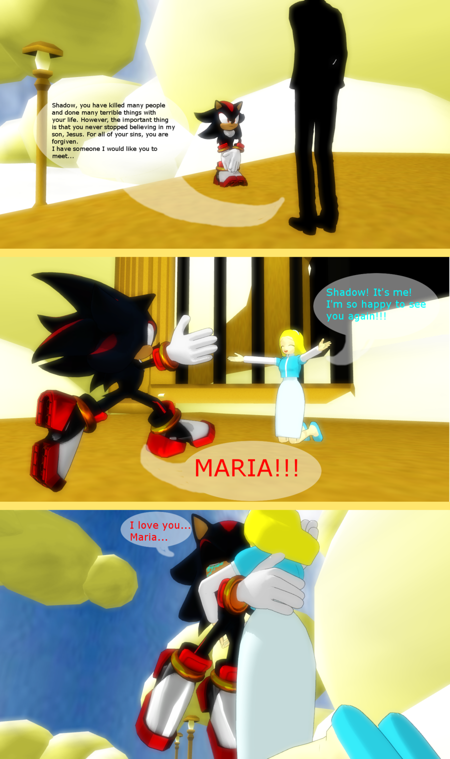 Shadow Is Ded Christian Sonic Fanart Know Your Meme