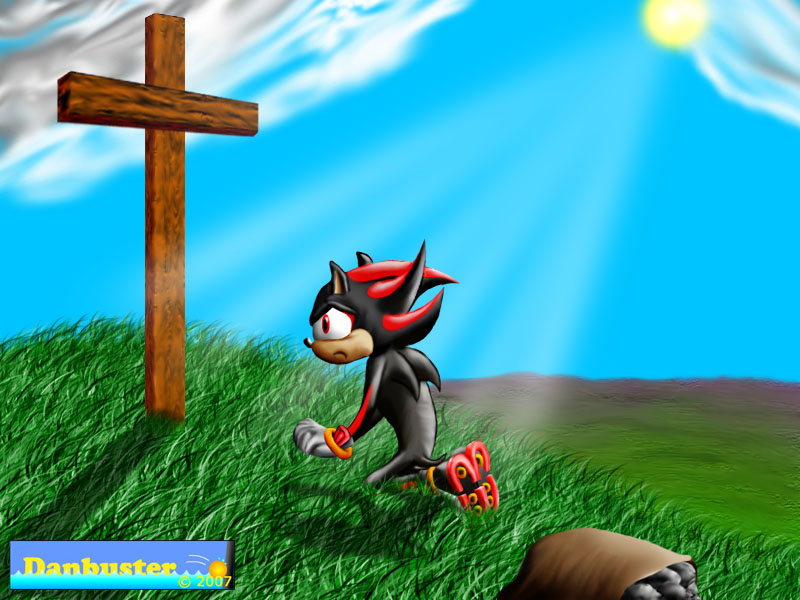 Shadow Finds Salvation Christian Sonic Fanart Know Your Meme