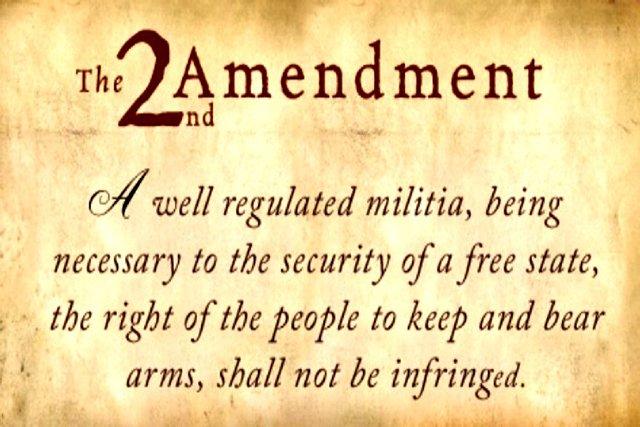 the 2nd amendment gun control debate know your meme