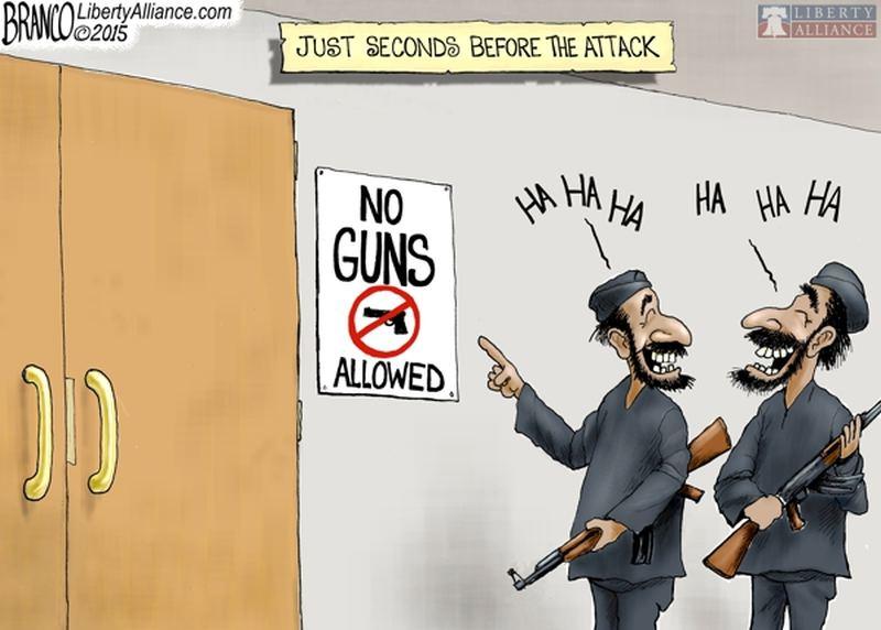 Seconds Before The Attack  Gun Control Debate  Know Your Meme Libertyalliancecom  Liberty Just Seconds Before The Attack Guns  Allowed