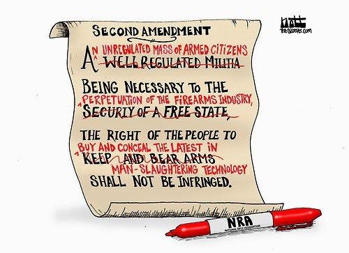 rewriten gun control debate know your meme