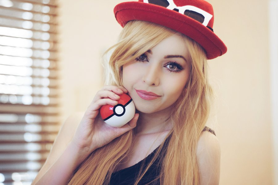 Serena Pokemon X Y By Amythunderbolt Cosplay Know Your Meme