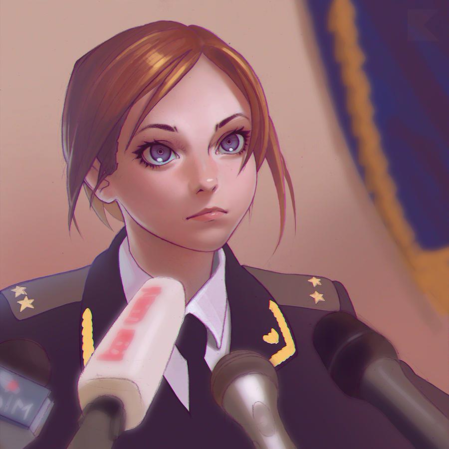 Moe Natalia Poklonskaya By Kuvshinov Ilya Natalia Poklonskaya
