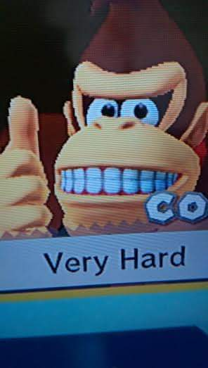 Image result for very hard donkey kong meme