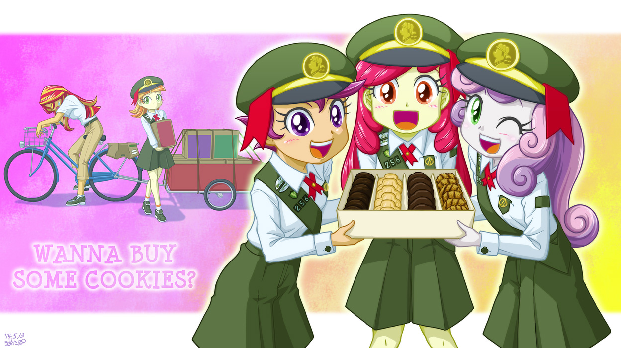 Cmc Girl Scouts Yay By Uotapo My Little Pony Equestria Girls