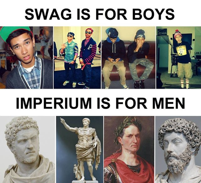 swag is for boys imperium is for men