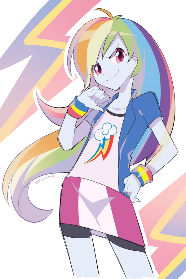 Rainbow Dash My Little Pony Equestria Girls Anime