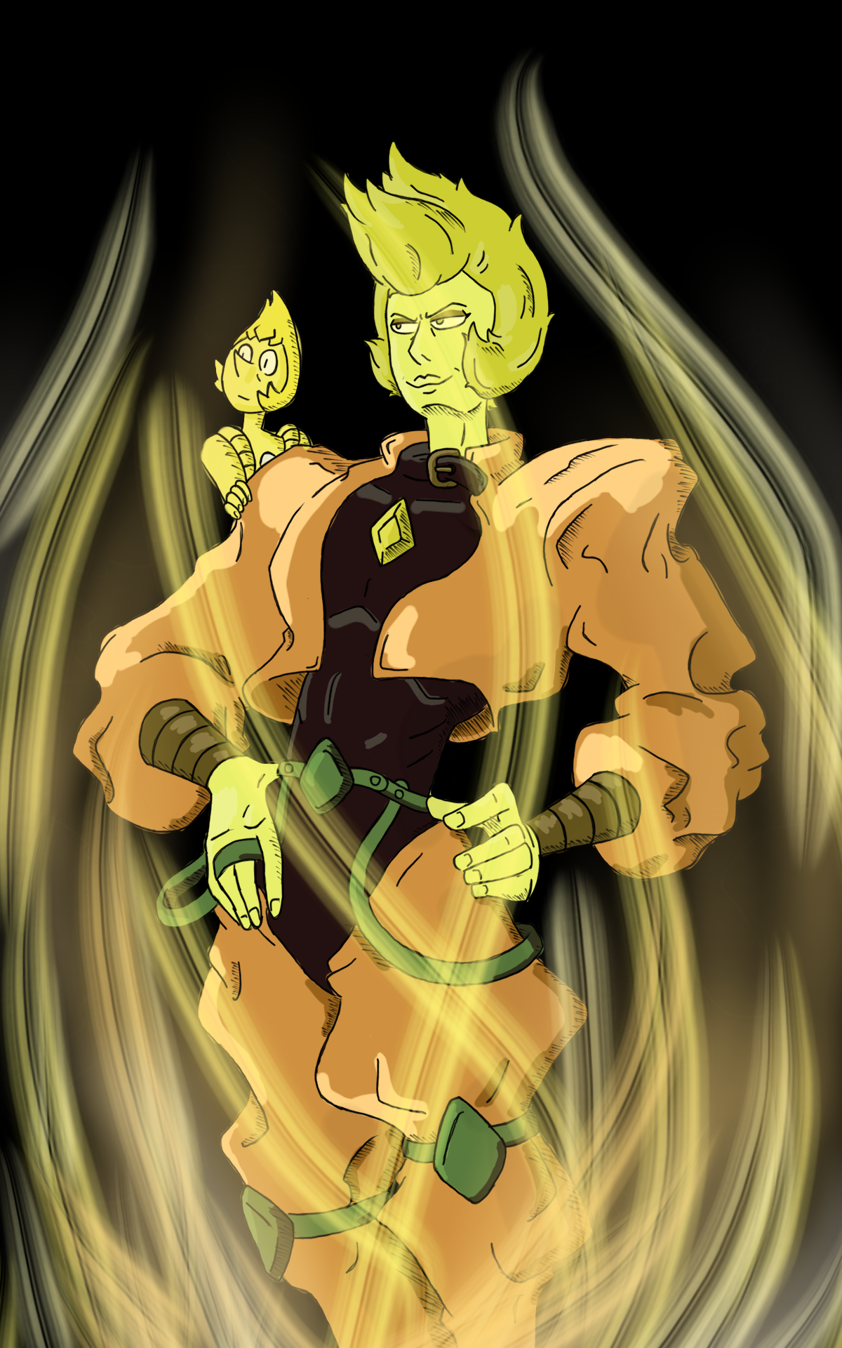 yellow dio steven universe know your meme
