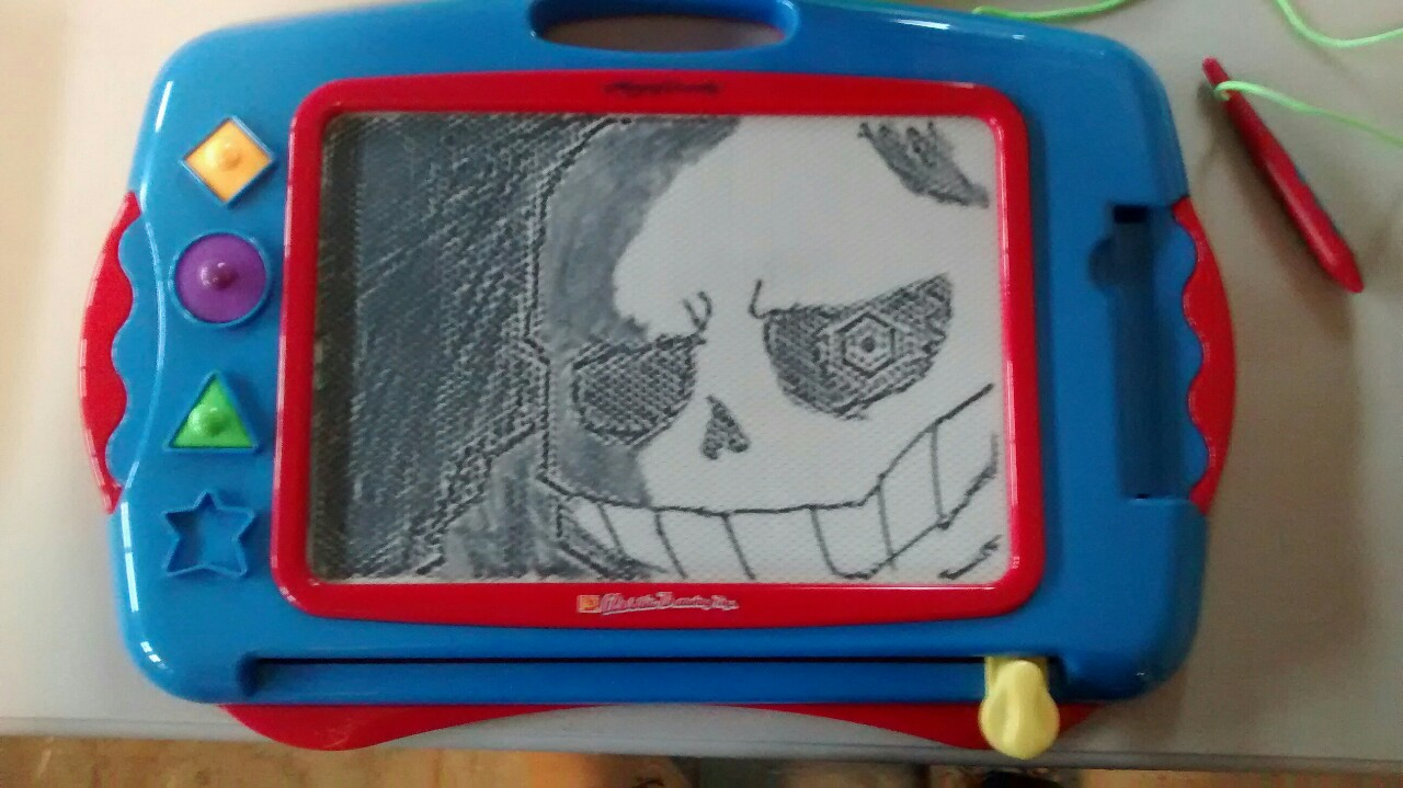 Magnet Drawing Board Undertale Know Your Meme