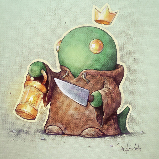 Tonberry King By Sephiroth Art Final Fantasy Know Your Meme